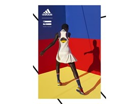 adidas Tennis Collection by PHARRELL WILLIAMS FW17 PR Hero Visuals Models Portrait