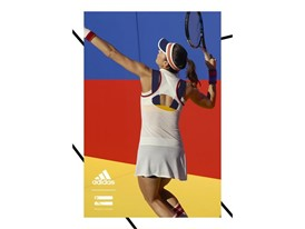 adidas Tennis Collection by PHARRELL WILLIAMS FW17 PR Hero Visuals Garbine Portrait