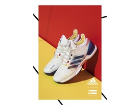 adidas Tennis Collection by PHARRELL WILLIAMS FW17 PR Hero Visuals FTW-off Model Portrait