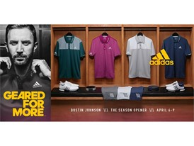 adidas Golf Unveils Athlete Apparel for the Year's First Major