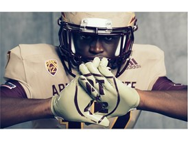 ASU x adidasFballUS Brotherhood Gloves 1