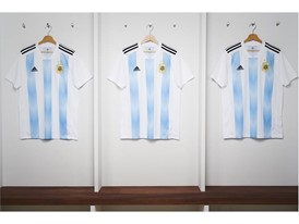 01 Argentina Home Jersey