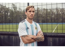 02 Argentina Home Jersey