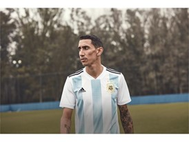 04 Argentina Home Jersey