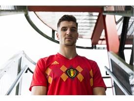 01 Belgium Home Jersey
