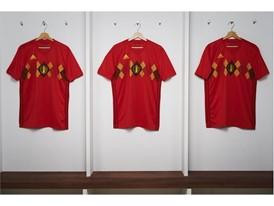 02 Belgium Home Jersey