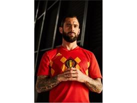 04 Belgium Home Jersey