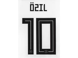 WM-Trikot 2018 Rückennummer