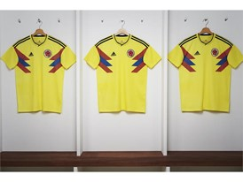 01 Colombia Home Jersey