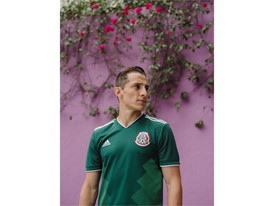 02 Mexico Home Jersey