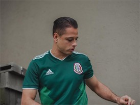 07 Mexico Home Jersey