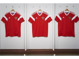 01 Russia Home Jersey