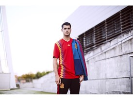 02 Spain Home Jersey