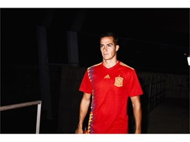 03 Spain Home Jersey