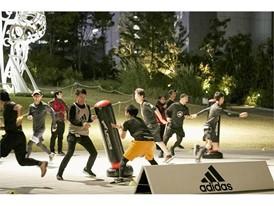 """adidas Runners of Tokyo presents -TOKYO RUN +5 CHALLENGE-"" 07"
