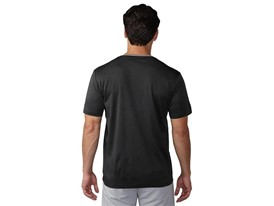 No-show range tee Black heather - Back