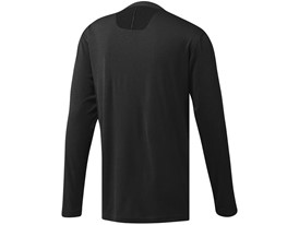 No-show Range Henley Black - Back
