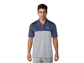 UP Heather blocked polo noble indigo grey