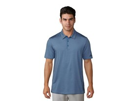 UP 2-color Stripe Polo ash blue trace royal
