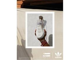 adidas Originals PHARRELL WILLIAMS Hu Holi Blank Canvas PR Vertical Look 1 Opt 2