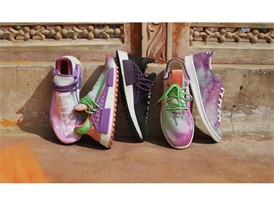 H21253 adidas Originals PHARRELL WILLIAMS Hu Holi Powder Dye Key Visual FTW Group Shot 2