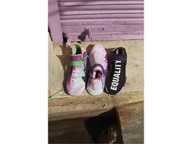 H21253 adidas Originals PHARRELL WILLIAMS Hu Holi Powder Dye Key Visual FTW Group Shot 1