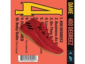 adidas Dame4 400Degreez CQ0186