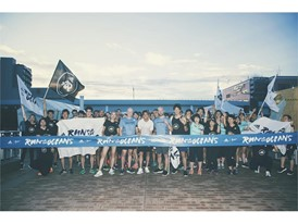 """adidas run for the oceans running event"" 03"