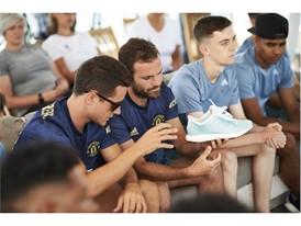 adidas Football, Manchester United y Parley For The Oceans realizan evento para crear conciencia sobre la contaminación marina por plástico