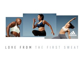 Love from the first sweat_treningi adidas Women