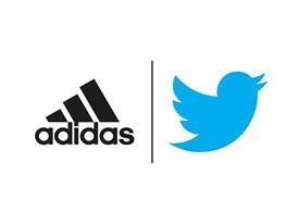 adidas x Twitter Logo