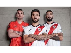 adidas presenta la nueva camiseta de River Plate