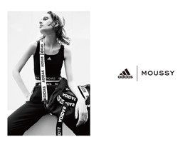 """adidas×moussy 第4弾"" TOP"
