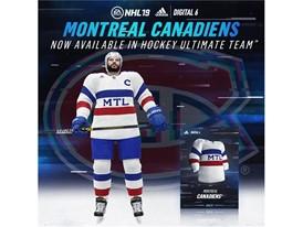 adidas Hockey x EA Digital6 Canadiens
