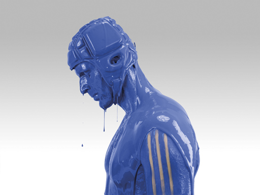 Petr Cech poses during the 'it's blue, what else matters' photo shoot for the new adidas Chelsea kit