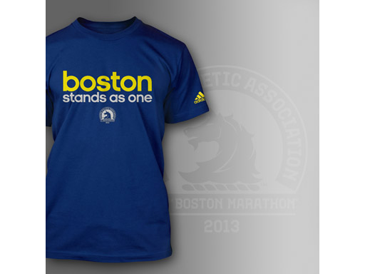 Boston Stands As One Tee