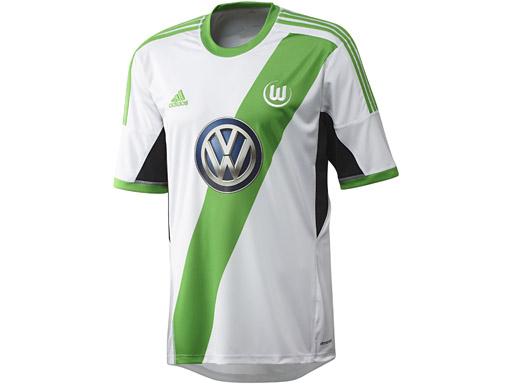 Wolfsburg Home Jersey front