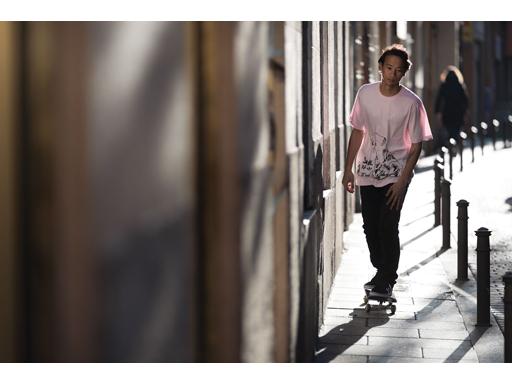 Gonz Skate Kat Tshirt and Gonz Stretch Chino Pant - Lem Villemin