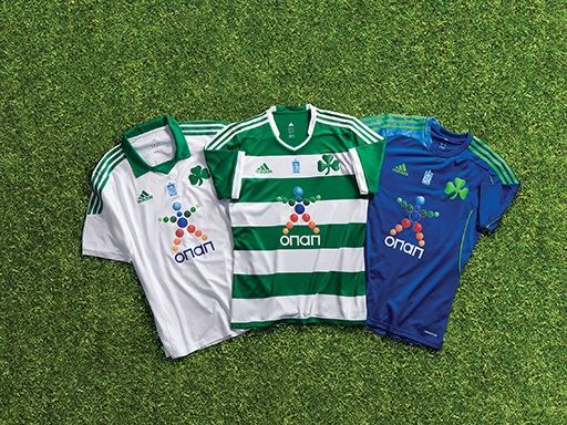 PAO FC 2013/14 - all jerseys