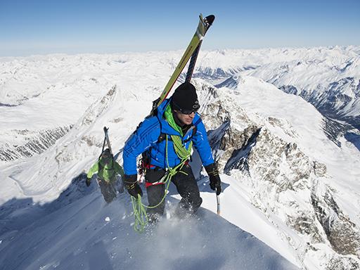 Toni Moßhammer and David Kreiner, Bianco Ridge