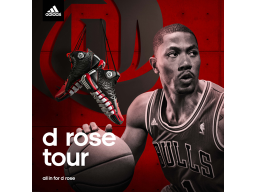 FW13 D Rose Tour Athlete FTW 773 Sq
