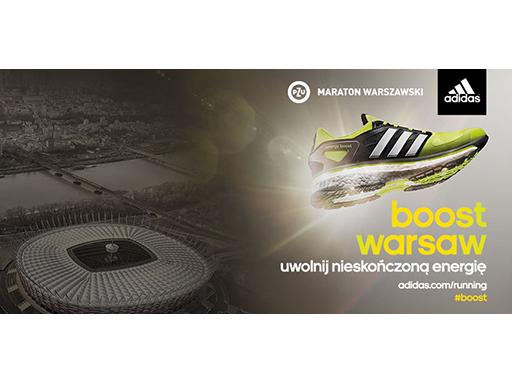 35. PZU Maraton Warszawski - adidas dostarczy biegaczom nieskończonej energii