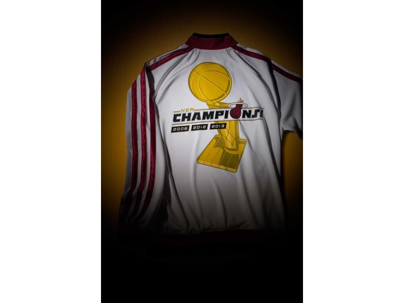 adidas Miami HEAT, Championship Collection, Jacket 2
