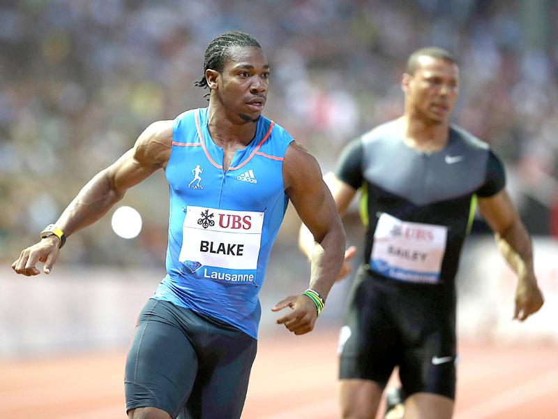 Adidas News Stream Yohan Blake