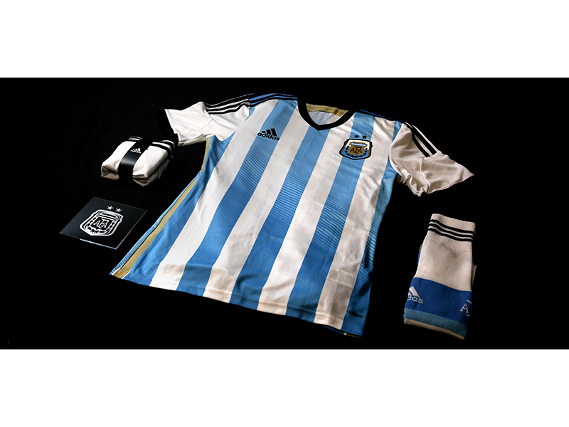 adidas NEWS STREAM   Argentinean Federation Kit for 2014 FIFA World ... 3b9c5336e