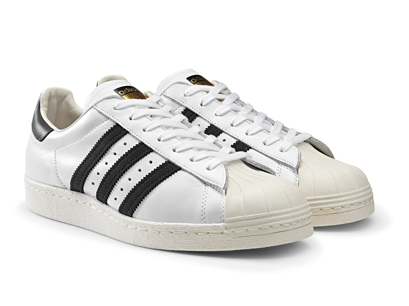 adidas superstar righe verdi