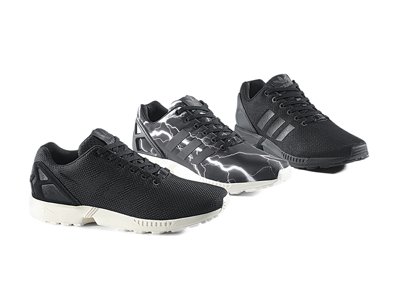ZX Flux Black Elements Pack