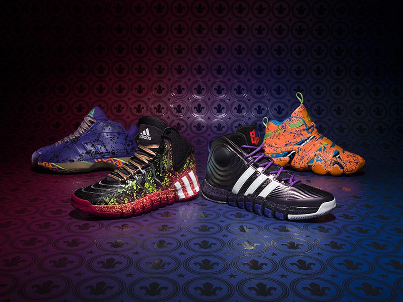 adidas NBA All Star Basketball Footwear