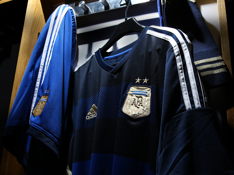 Argentina Fed Kit Away 3