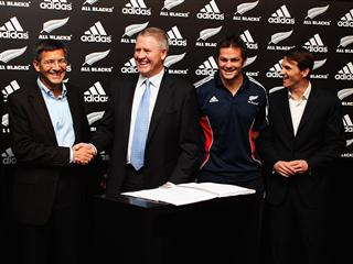 adidas extends All Blacks sponsorship until 2019